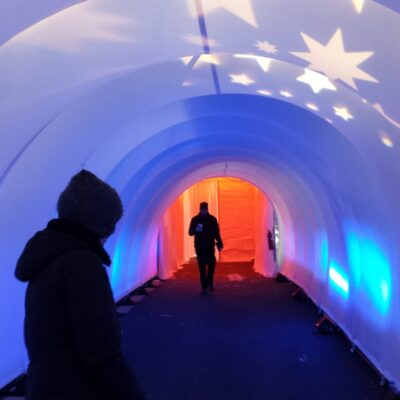 Tunnels enhance your event entryways!