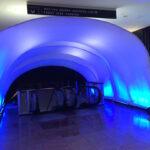 Escalator Nesting Fabric Tunnel