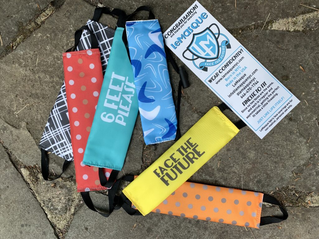covid fabric masks reusable sustainable