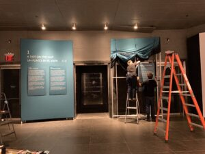 Originators MJH Auschwitz Exhibit process