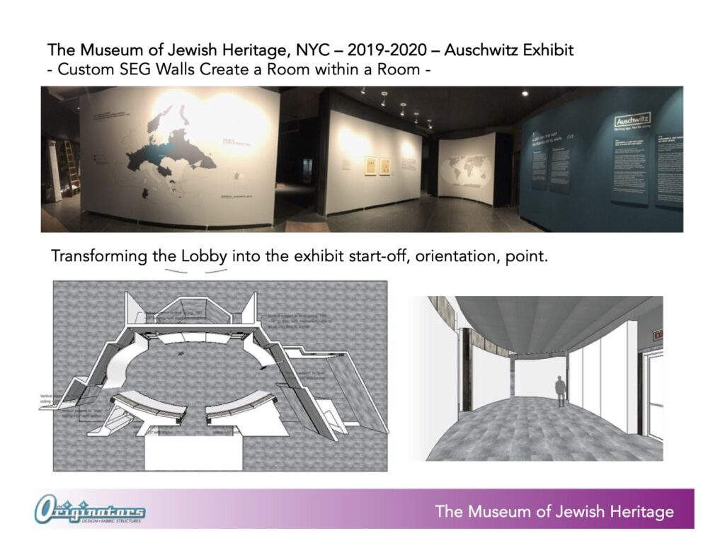 Originators MJH Auschwitz Exhibit PLANS